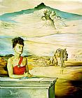 Salvador Dali Portrait of Mrs. Jack Warner painting